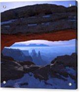 Moonlit Mesa Acrylic Print