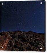 Moonlit Night, Atacama Desert, Chile Acrylic Print
