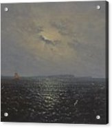 Moonlit Night By Ruegen Acrylic Print