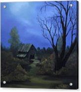 Moonlit Path Acrylic Print
