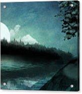 Moonlit Peace Acrylic Print
