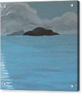 Moonlit Seas Acrylic Print