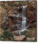 Moonlit Waterfall Acrylic Print