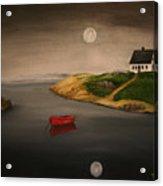 Moonlite Night Acrylic Print