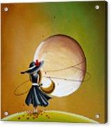 Moonrise Acrylic Print by Cindy Thornton