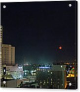 Moonrise Over New Orleans Acrylic Print