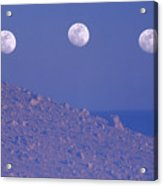Moons And Dunes Acrylic Print