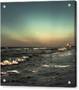 Moons Glow  Acrylic Print by Kim Loftis