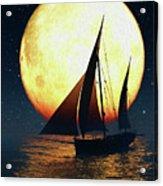 Moonsailor Acrylic Print