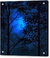Moonshine 03 Bad Moon Rising Acrylic Print
