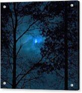 Moonshine 10 Blue Sky Acrylic Print
