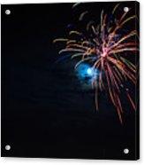 Moonshot Acrylic Print by Christopher Muto