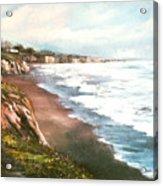 Moonstone Cliffs Acrylic Print