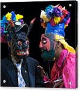 Moor Masks  Acrylic Print