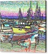 Moorage Acrylic Print