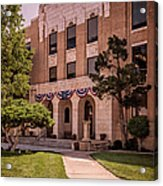 Moore County Courthouse Acrylic Print
