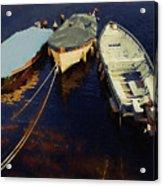Moored Boats Acrylic Print