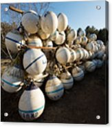 Mooring Balls, South Freeport Acrylic Print