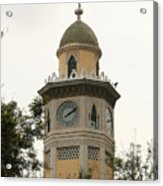 Moorish Clock Tower In Guayaquil Acrylic Print