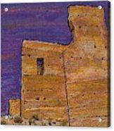 Moorish Fort In Jumilla Acrylic Print