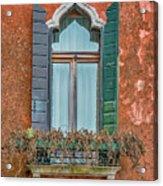 Moorish Window And Texture Venice_dsc5350_03052017 Acrylic Print