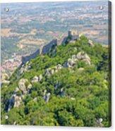 Moors Castle Aerial Acrylic Print