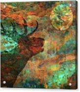 Moose Calls Acrylic Print