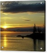 Moosehead Lake Sunrise Acrylic Print