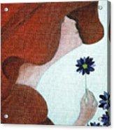 Mopart Lady Acrylic Print