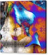 Mopop Acrylic Print