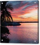 Morado Sunset Acrylic Print