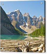 Moraine Lake - Canadian Rockies Acrylic Print