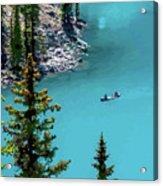 Moraine Lake - 2 Acrylic Print