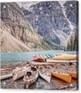 Moraine Lake Transportation  Acrylic Print