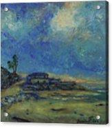 Moran Lake Santa Cruz California Landscape 9 Acrylic Print