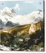 Moran: Teton Range, 1897 Acrylic Print