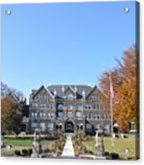 Moravian College Acrylic Print by Bill Cannon