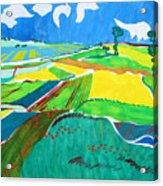 Moravian Landscape Acrylic Print