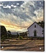 Moravian Sunset Acrylic Print