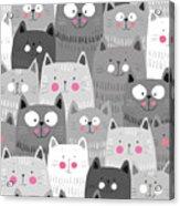 More Cats Acrylic Print