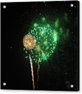 More Fireworks  Acrylic Print