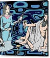 More Of That Nice Merlot Please Acrylic Print