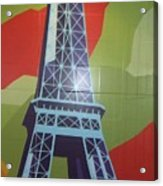 More Parisian  Murals.....  Acrylic Print