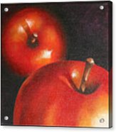 More Red Apples Acrylic Print by Jose Romero