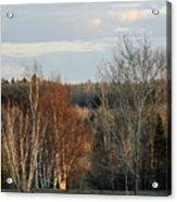 More Sunset Light Acrylic Print