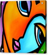 More Than Enough - Abstract Pop Art By Fidostudio Acrylic Print