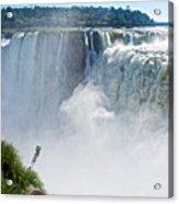 More Waterfalls At Devil's Throat In Iguazu Falls National Park-  Acrylic Print