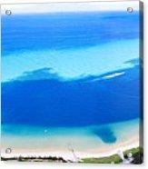 Moreton Island Aerial View Acrylic Print