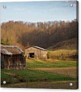 Morgan County Farm Valey Acrylic Print