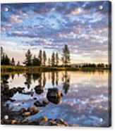 Morgan Lake Sunrise Acrylic Print